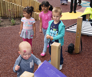 Nurseries & Crèche play areas and play equipment UK.