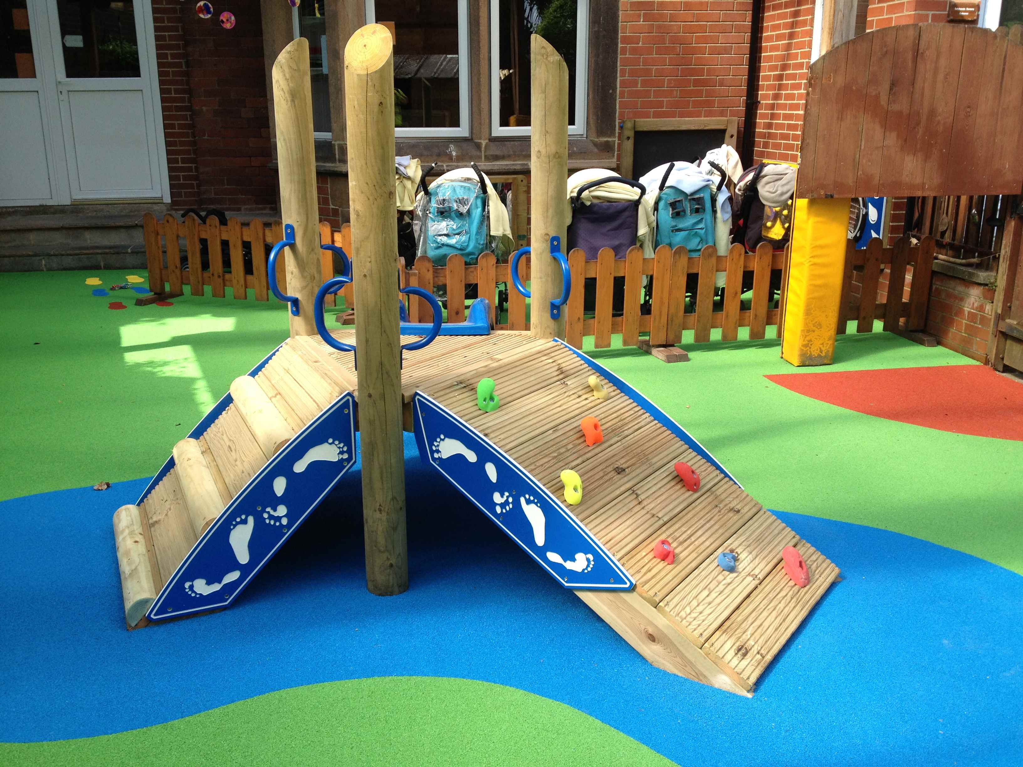 Modern and Innovatively Designed Outdoor Play Equipment