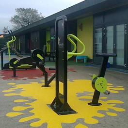 Outdoor gym and fitness equipment UK.