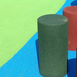 Safety surfacing, no slip surfaces for playgrounds and play areas UK.