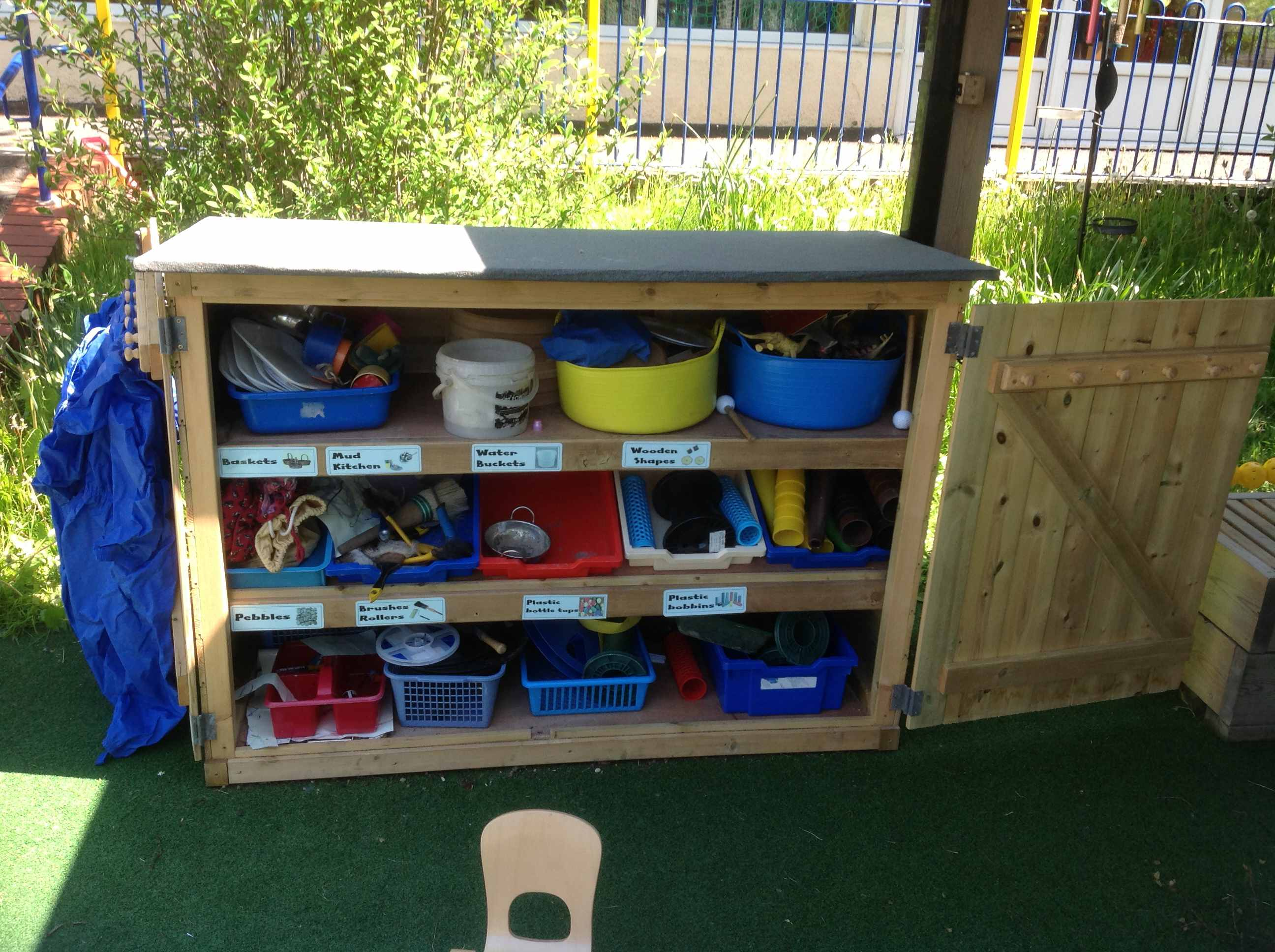 Safety Surfacing Wooden Play Equipment Lancashire