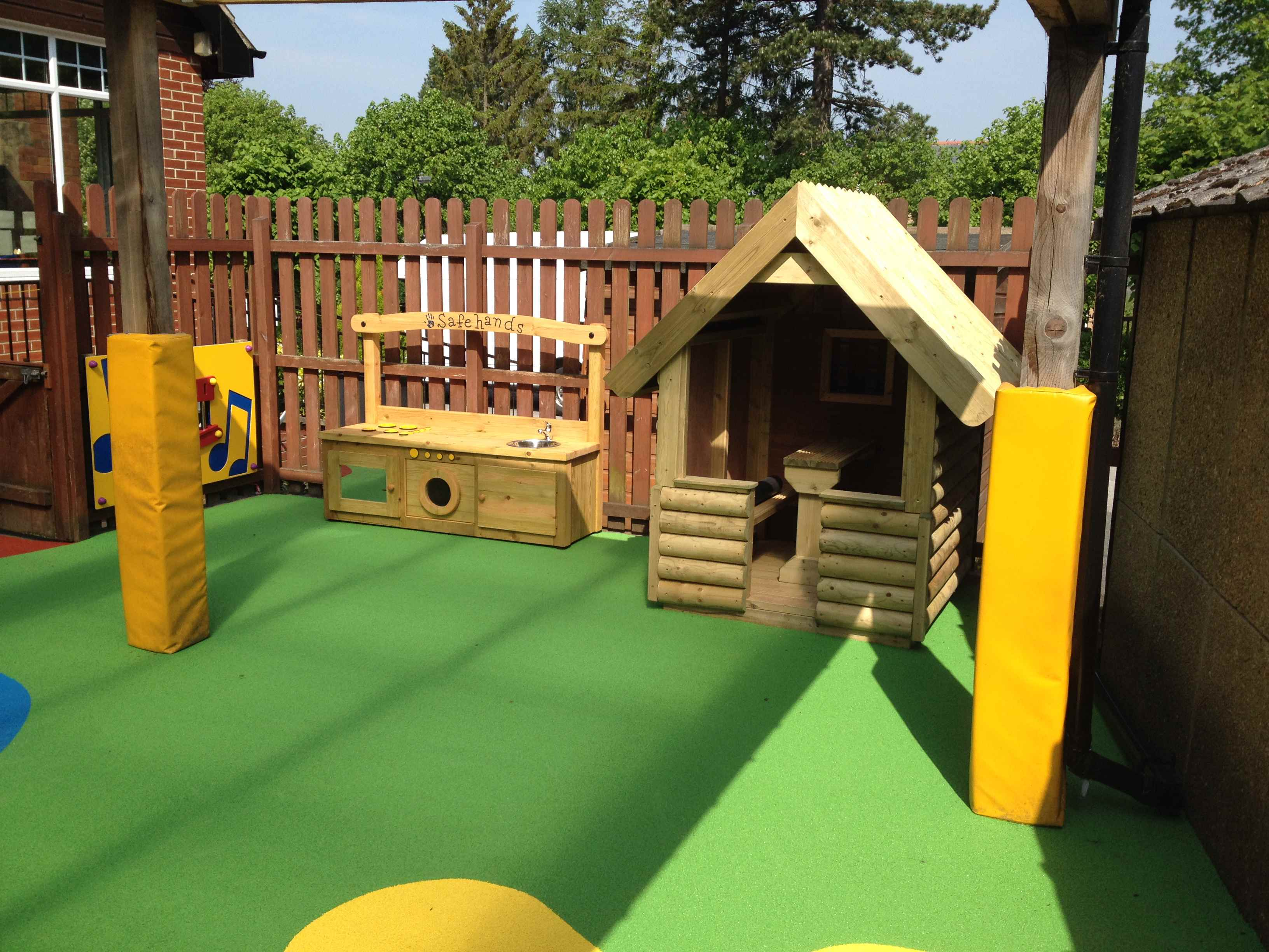 Colourful Play Area Safety Surfacing Design Yorkshire