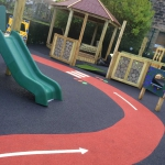 Play area refurbishment play equipment installation-Lancashire.