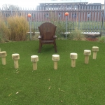 Outdoor marking and fencing