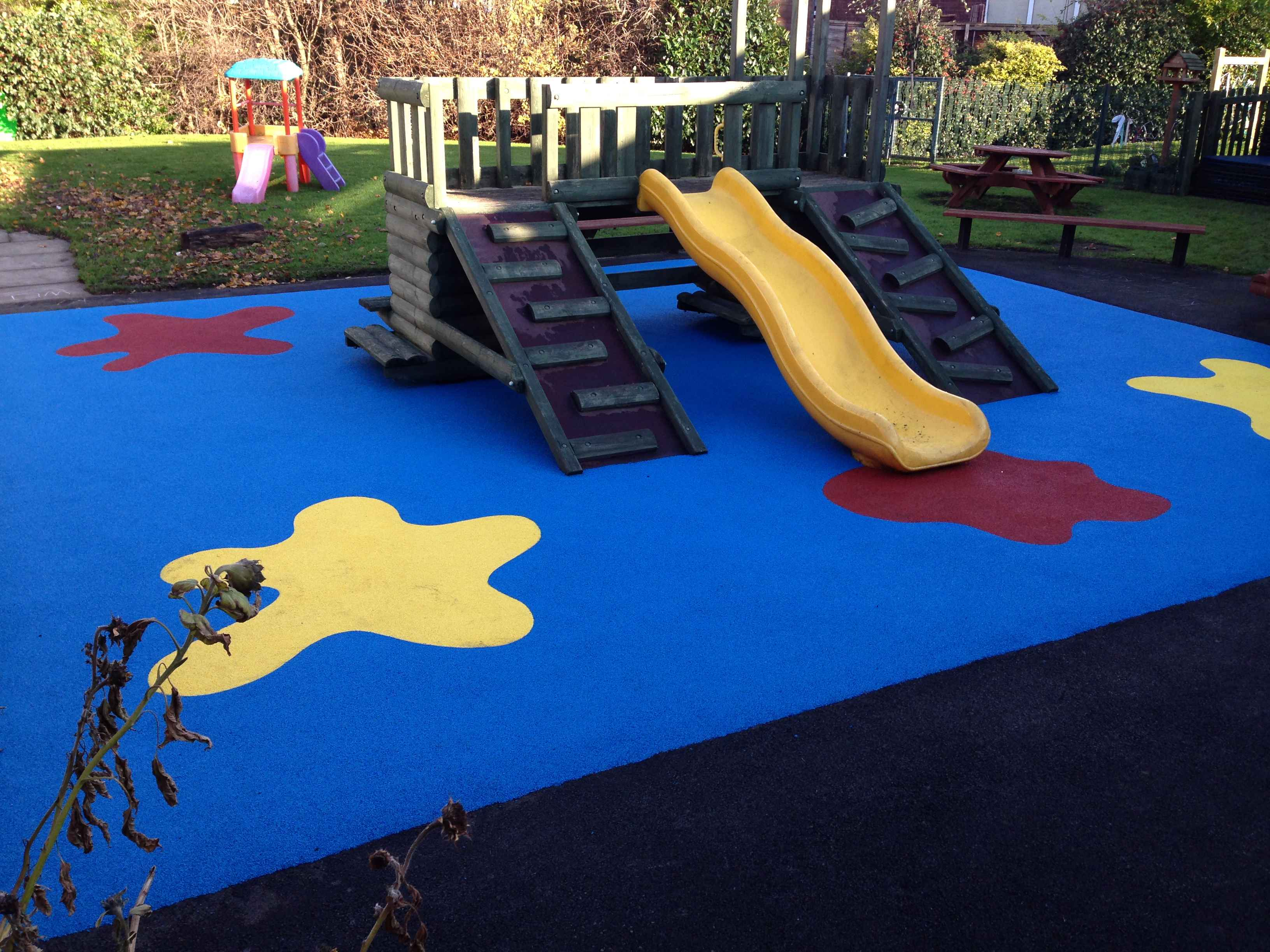 Wetpour Safety Surfacing.