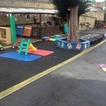 Old play area.