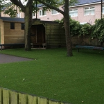Artificial Grass installation, faith schools, Lancashire, England.