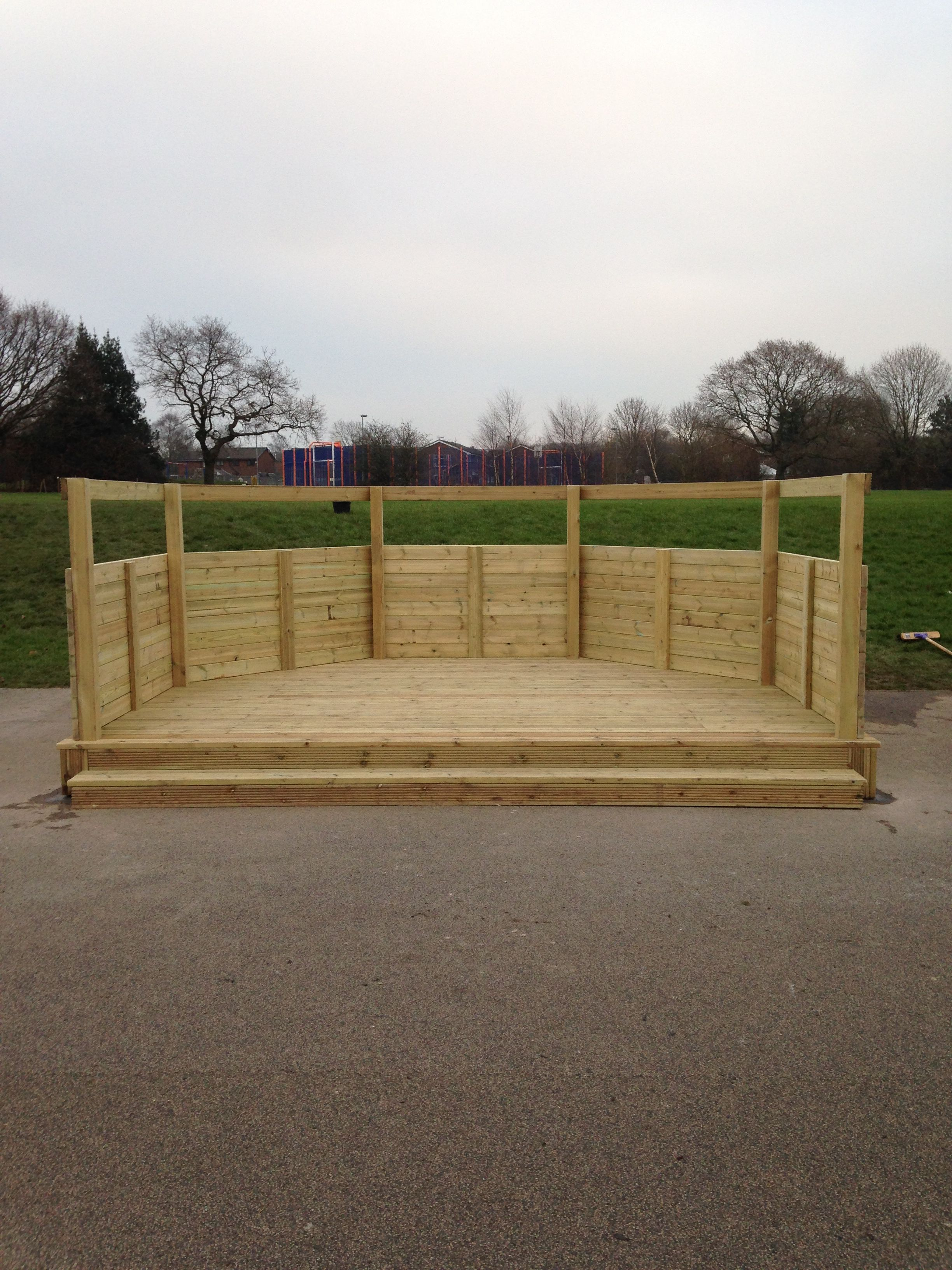 Classroom Design For Nursery ~ Timber classroom and play area wet pour leyland lancashire